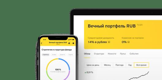 Биржевые фонды Тинькофф Капитал